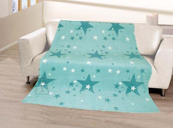 Tekstiilikompanii Pleed 150x200 cm, STARS sinine