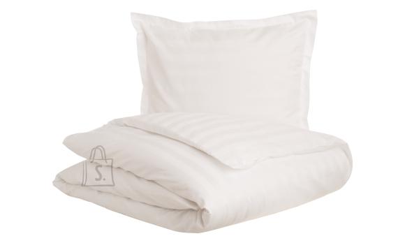 Tekstiilikompanii Tekikott triip-satään 150x210 cm, HOTEL CLASSIC valge