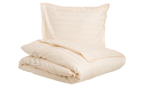 Tekstiilikompanii Tekikott triip-satään 150x210 cm, HOTEL CLASSIC soft cream