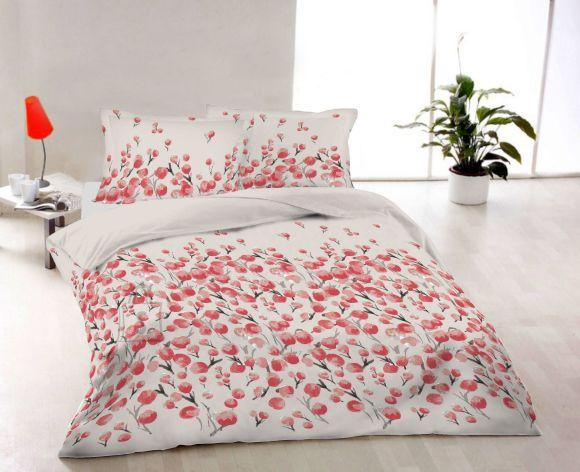 Tekstiilikompanii Padjapüür satään 50x60 cm, RED SNOWBELL