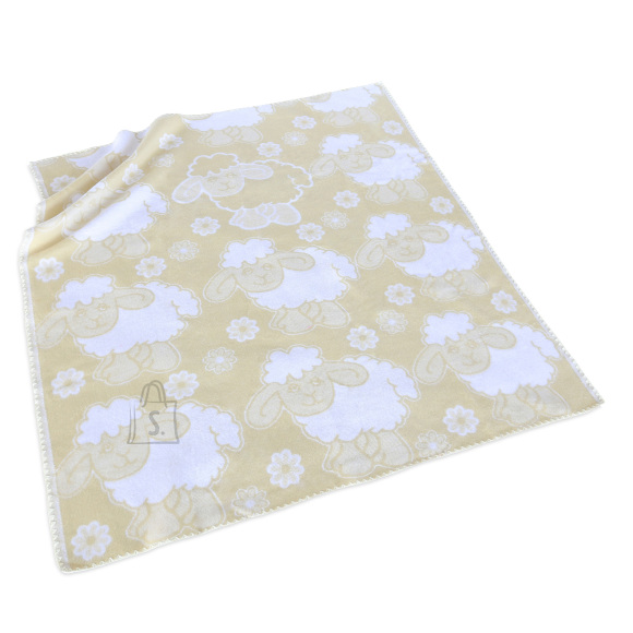 Tekstiilikompanii Puuvillane baikatekk 100x118 cm, LAMMAS beež