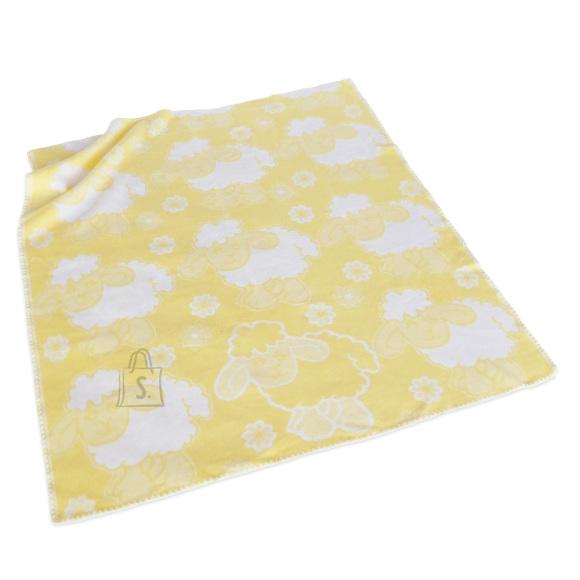 Tekstiilikompanii Puuvillane baikatekk 100x118 cm, LAMMAS kollane