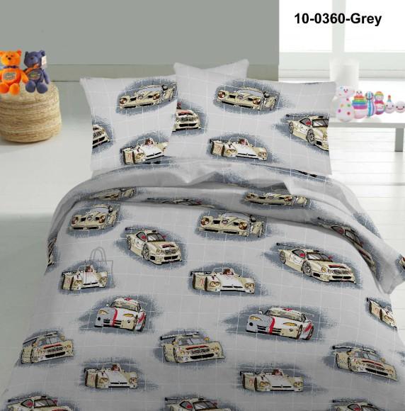 Tekstiilikompanii Voodipesukomplekt AUTOD 150x210 cm / 50x60 cm, hall