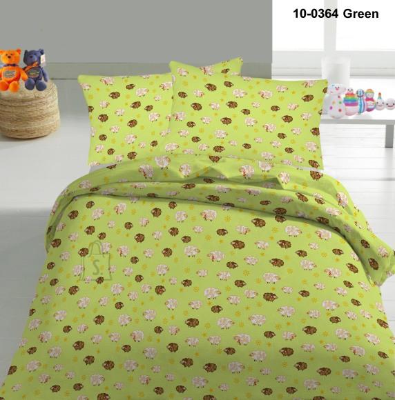 Tekstiilikompanii Voodipesukomplekt LAMMAS 110x140 cm / 50x60 cm, roheline