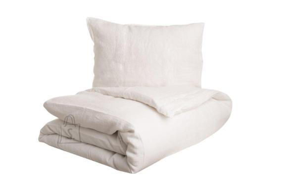 Tekstiilikompanii Voodipesukomplekt 100% lina, 150x210 cm / 50x60 cm, valge