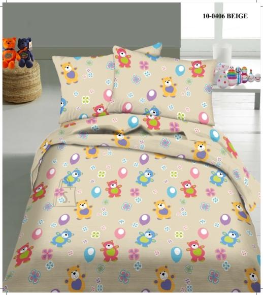 Tekstiilikompanii Laste voodipesukomplekt 102x120 cm / 40x60 cm, karud