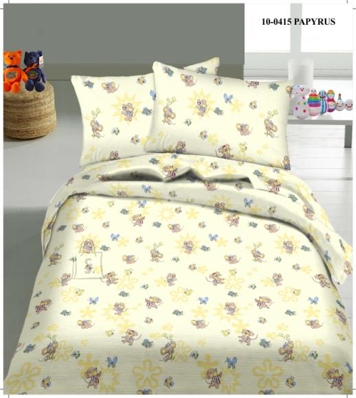 Tekstiilikompanii Laste voodipesukomplekt 102x120 cm / 40x60 cm, HIIREKE