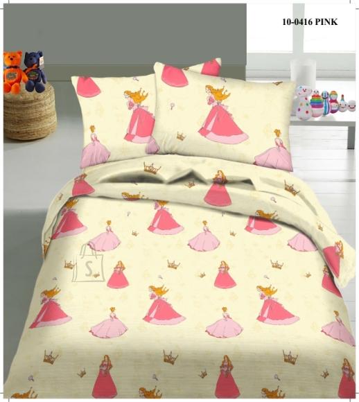 Tekstiilikompanii Laste voodipesukomplekt 150x210 cm / 50x60 cm, PRINTSESS