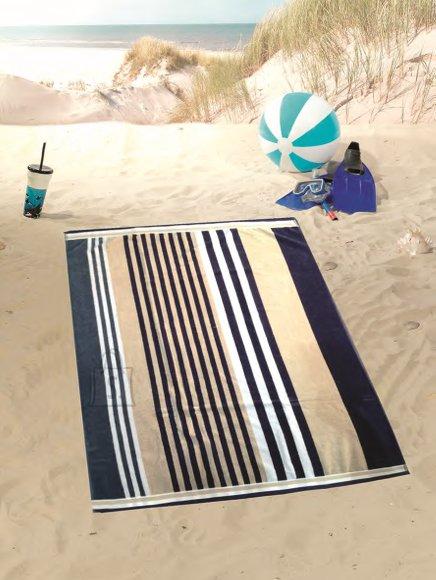 Tekstiilikompanii Froteerätik 100x160 cm, rannalina, triibuline