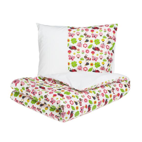 Tekstiilikompanii Laste voodipesukomplekt 102x120 / 40x60 cm, LEPATRIINU