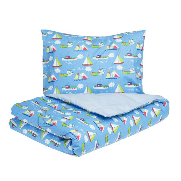 Tekstiilikompanii Laste voodipesukomplekt 110x140 / 50x60 cm, PURJEKAD