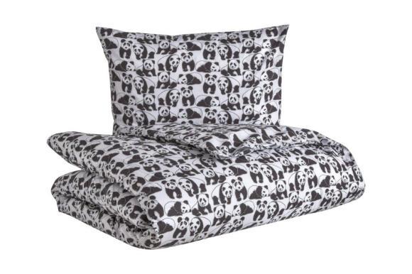 Tekstiilikompanii Voodipesukomplekt PANDA 150x210 cm / 50x60 cm