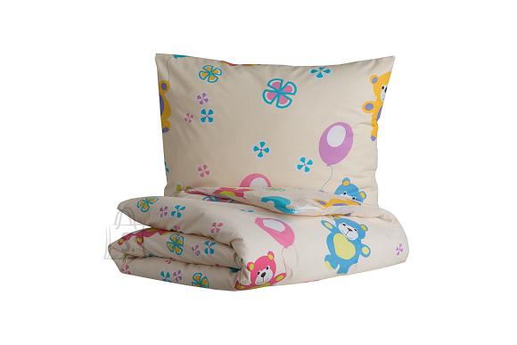 Tekstiilikompanii Laste voodipesukomplekt 110x140 cm / 50x60 cm, karud
