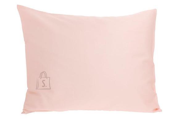 Tekstiilikompanii Padjapüür puuvill-satään 50x60 cm, roosa antiik