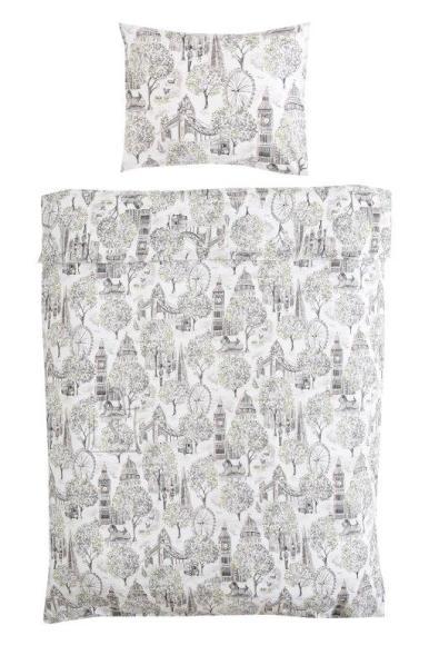 Tekstiilikompanii Voodipesukomplekt 150x210 / 50x60 cm, LONDON