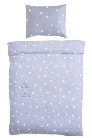 Tekstiilikompanii Voodipesukomplekt 150x210 / 50x60 cm, STAR denim sinine