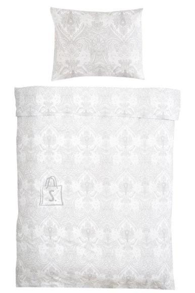 Tekstiilikompanii Voodipesukomplekt 220x210 / 2 tk 50x60 cm, BLACK WHITE