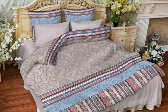 Tekstiilikompanii Voodipesukomplekt puuvillane 150x210/50x60 cm, LOVE TEX