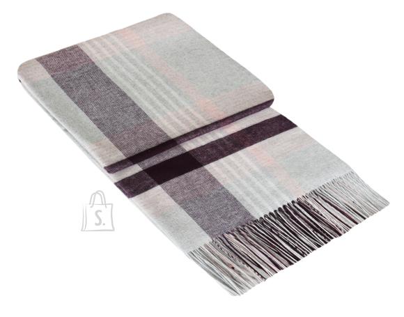 Tekstiilikompanii Pleed villasegune 140x200 cm, MAROCCO ploomililla