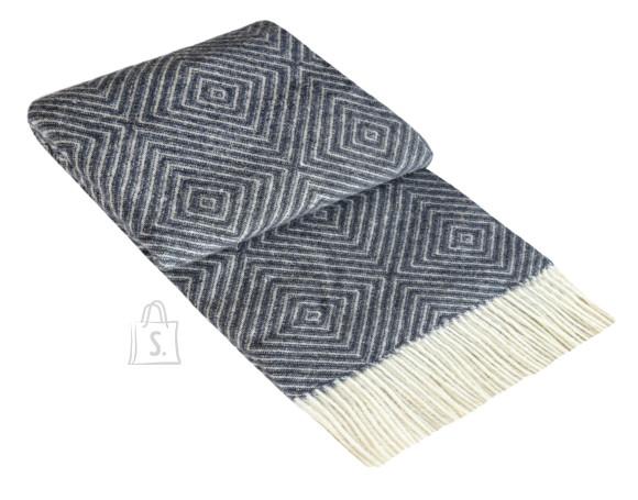 Tekstiilikompanii Pleed 100% vill 130x190 cm, ZEELAND sinine