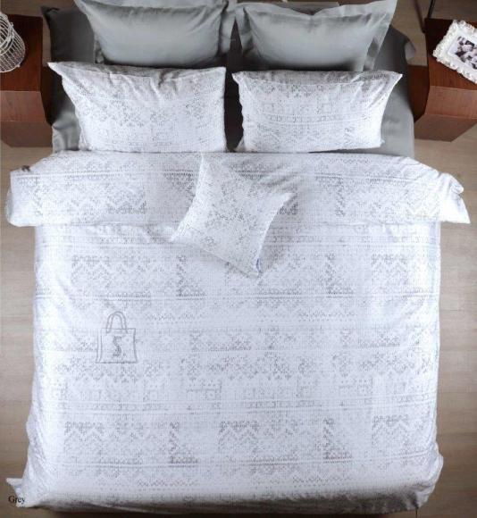 Tekstiilikompanii Voodipesukomplekt puuvill-satään 220x210 , 2 x 50x60 cm / WOLLY