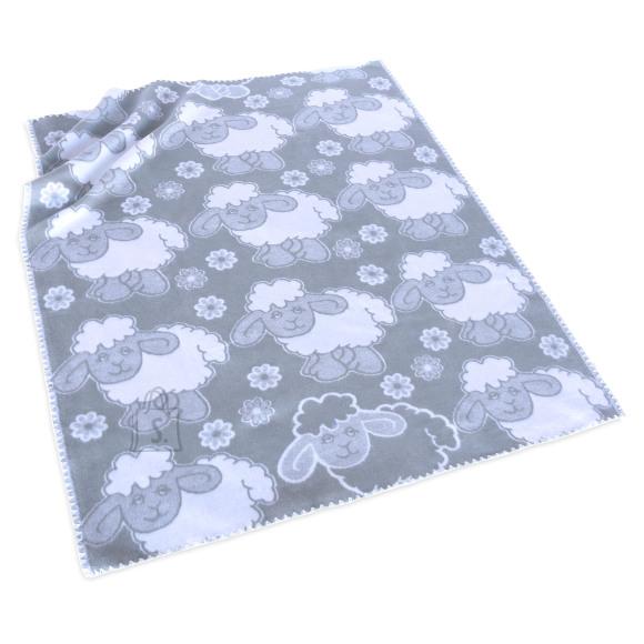 Tekstiilikompanii Puuvillane baikatekk 100x118 cm, LAMMAS helehall