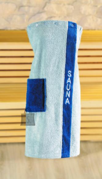 Tekstiilikompanii Saunaseelik naistele 80x136 cm, sinine