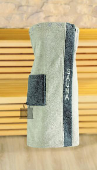 Tekstiilikompanii Saunaseelik naistele 80x136 cm, hall