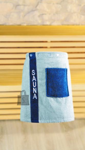 Tekstiilikompanii Saunaseelik meestele 50x136 cm, sinine