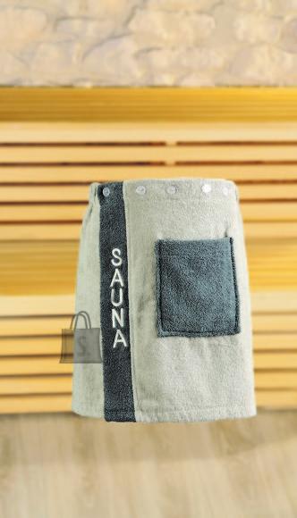 Tekstiilikompanii Saunaseelik meestele 50x136 cm, hall