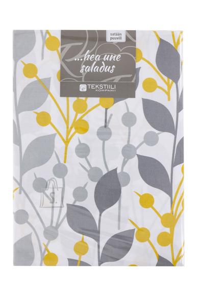 Tekstiilikompanii Voodipesukomplekt puuvill-satään 150x210, 50x60 cm / CRYSTAL fr
