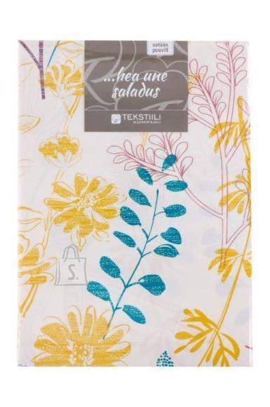 Tekstiilikompanii Voodipesukomplekt puuvill-satään 150x210, 50x60 cm / PROVENCE