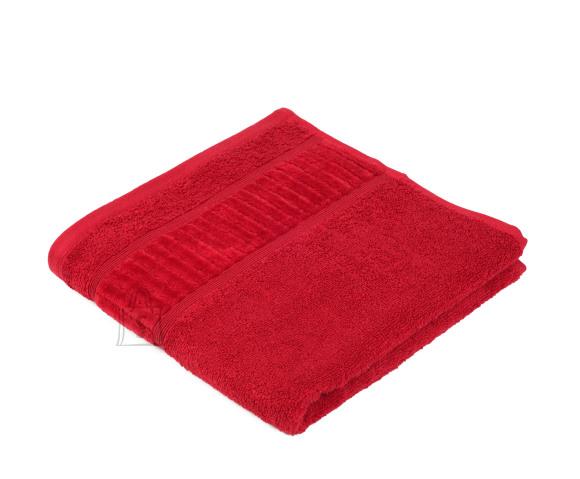 Tekstiilikompanii Froteerätik 50x100 cm, BIO puuvill, punane