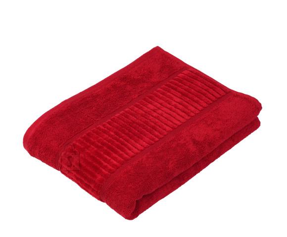 Tekstiilikompanii Froteerätik 70x140 cm, BIO puuvill, punane