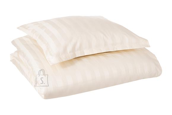 Tekstiilikompanii Voodipesukomplekt triip-satään 220x210, 2x 50x60 cm / HOTEL CLASSIC kreem