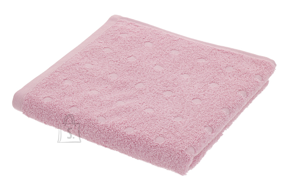 Dreamland Froteerätik DOTS 50x100 cm, roosa