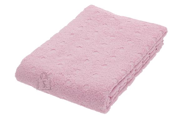Dreamland Froteerätik DOTS 100x150 cm, roosa