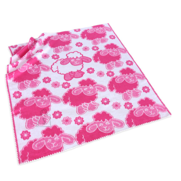 Tekstiilikompanii Puuvillane baikatekk 100x118 cm, LAMMAS roosa