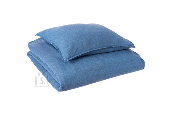 Tekstiilikompanii Voodipesukomplekt 100% lina, 220x210, 2 tk 50x60 cm / denim sinine