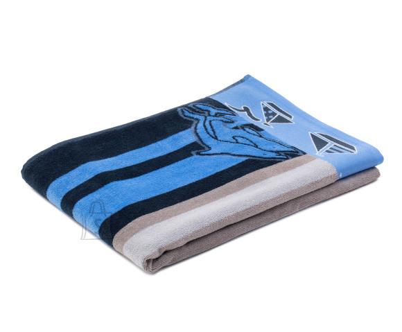 Tekstiilikompanii Froteerätik rannalina 90x180 cm / triibud sinised