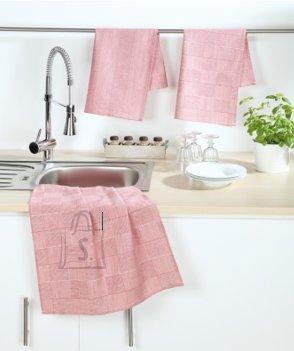 Tekstiilikompanii Köögirätik 50x70 cm, 100% puuvill, 4tk pakis, punane