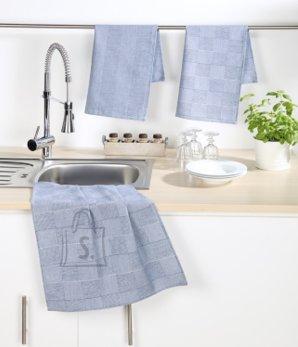 Tekstiilikompanii Köögirätik 50x70 cm, 100% puuvill, 4tk pakis, sinine
