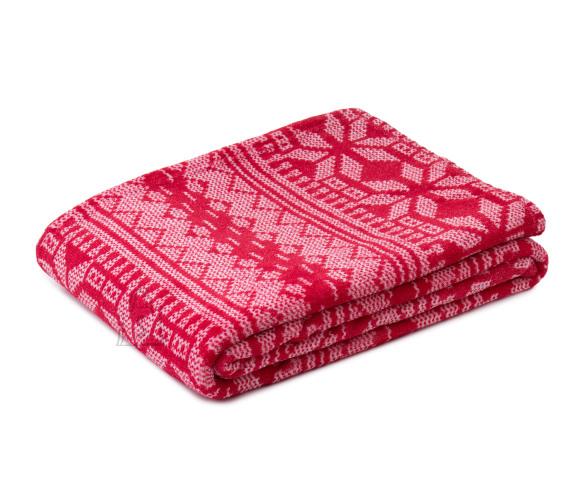 Tekstiilikompanii Pleed TALVENAUDING 150x200 cm, punane