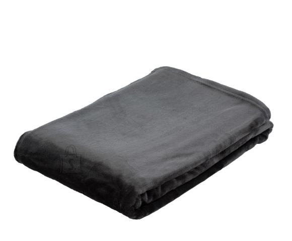 Tekstiilikompanii Pleed tekk MEMPHIS 180x220 cm, tumehall