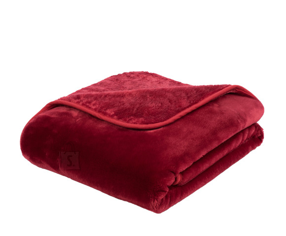 Tekstiilikompanii Pleed tekk CASHMERE 130x170 cm, punane
