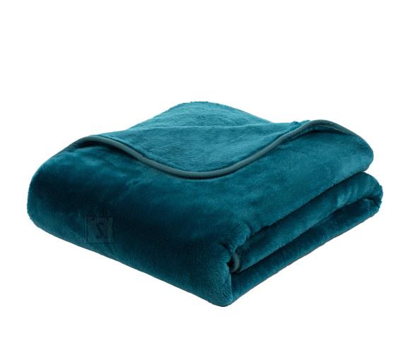 Tekstiilikompanii Pleed tekk CASHMERE 180x220 cm, petrol