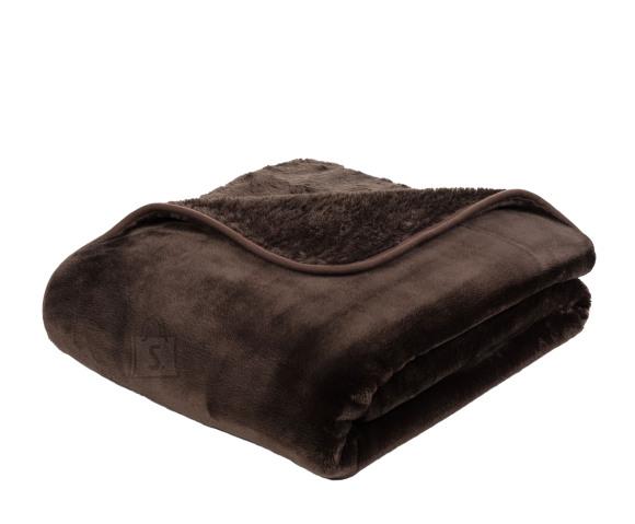 Tekstiilikompanii Pleed tekk CASHMERE 180x220 cm, pruun
