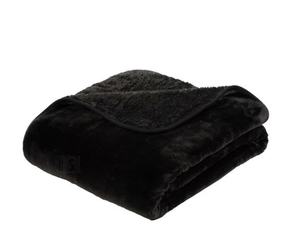 Tekstiilikompanii Pleed tekk CASHMERE 180x220 cm, must