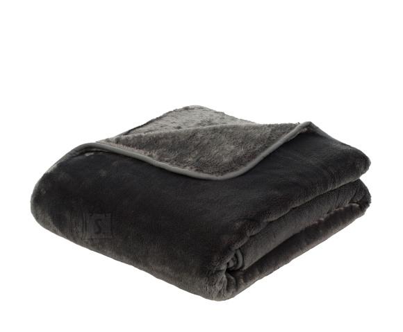 Tekstiilikompanii Pleed tekk CASHMERE 220x240 cm, tumehall