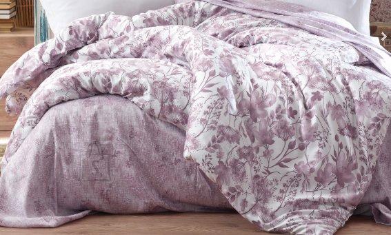 Tekstiilikompanii Voodipesukomplekt puuvill-satään 200x210, 2x 50x60 cm / OLAVA lilla